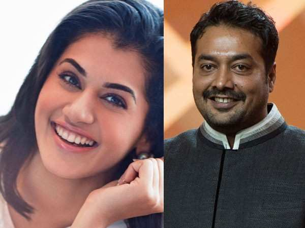 It's a hattrick for Taapsee Pannu and Anurag Kashyap
