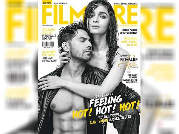 Alia Bhatt and Varun Dhawan sizzle on the April cover of Filmfare