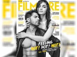 Alia Bhatt and Varun Dhawan sizzle on the April cover of Filmfare