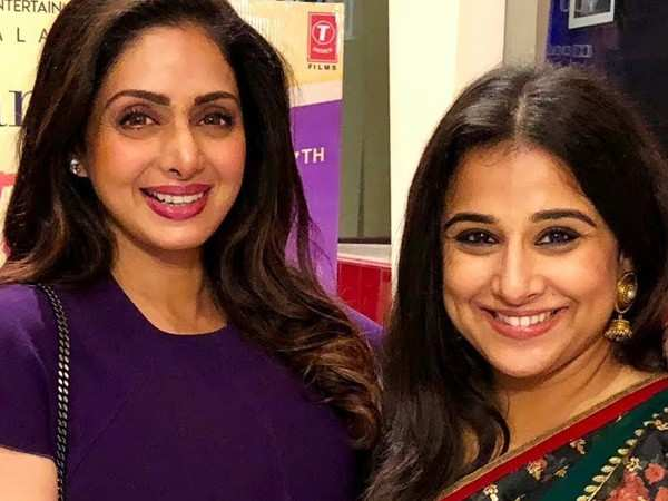 Vidya Balan to star in the late Sridevi's biopic?