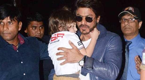 AbRam Khan, Shah Rukh Khan