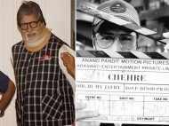 Amitabh Bachchan and Emraan Hashmi's Chehre starts rolling