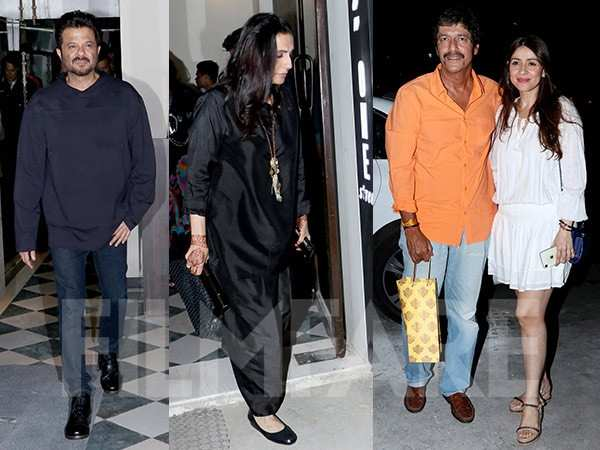 All photos from Anil Kapoor and Sunita Kapoor's 35th wedding anniversary dinner