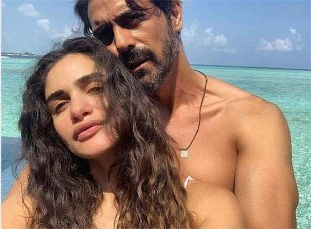 All pictures from Arjun Rampal's girlfriend Gabriella Demetriades's baby shower