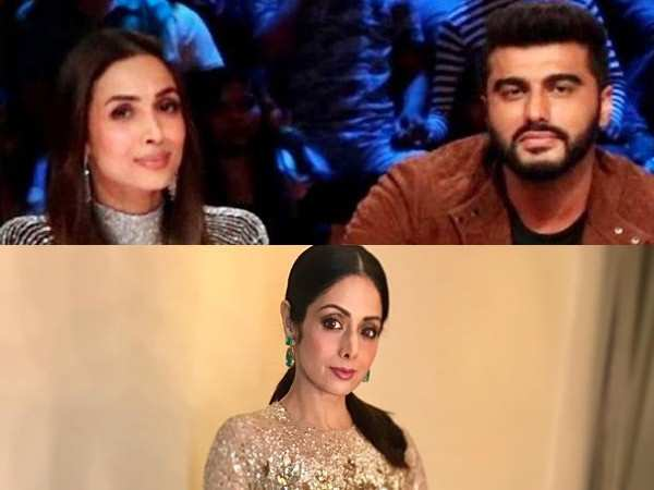 Arjun Kapoor blasts a troll for negative comments on Malaika Arora and late Sridevi