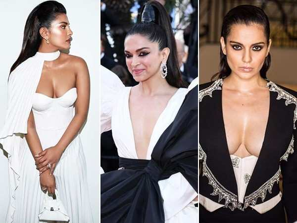 All pictures and videos of Deepika Padukone, Priyanka Chopra and Kangana Ranaut from Cannes