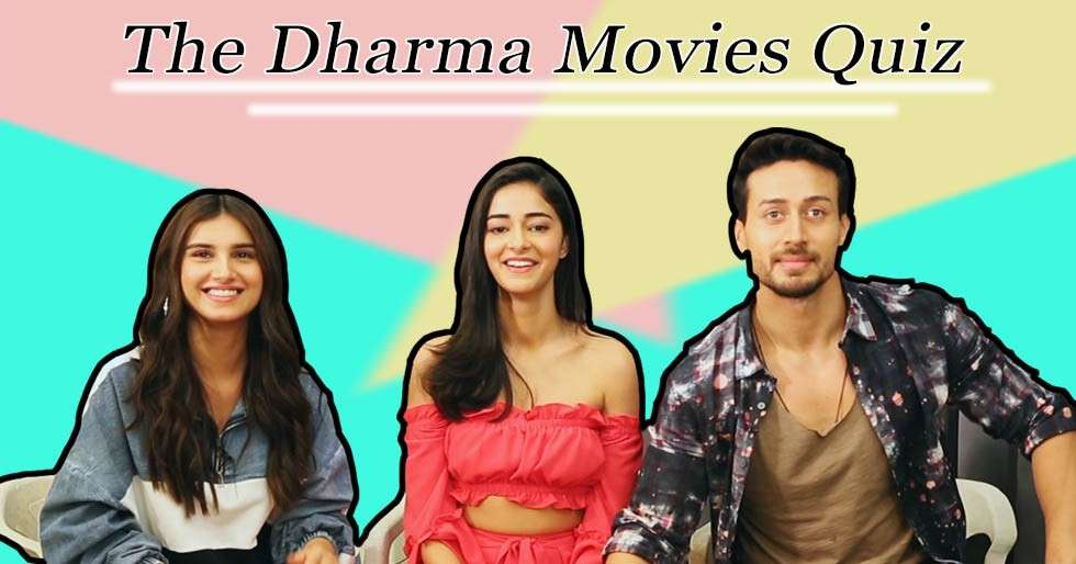How well does the cast of SOTY 2 know Dharma films?