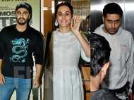 Abhishek Bachchan, Taapsee Pannu and others watch India's Most Wanted