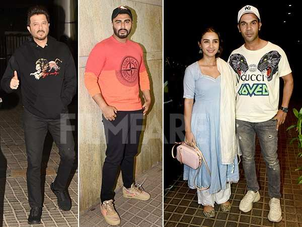 Photos: Bollywood stars watch Arjun Kapoor's India's Most Wanted