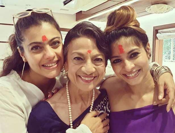 Kajol, Tanuja, Tanisha Mukerji