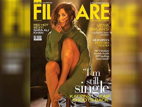 Katrina Kaif wows on the latest cover of Filmfare