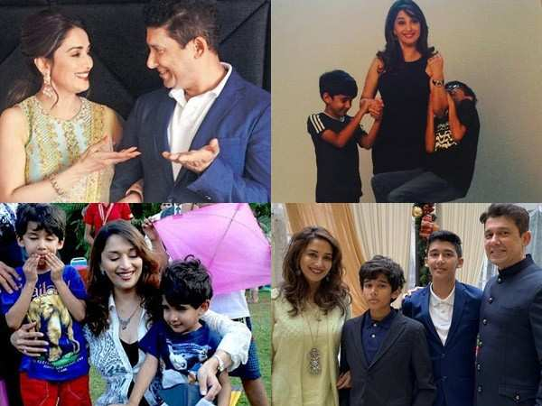 Birthday Special: 10 lovely family pictures of Madhuri Dixit Nene