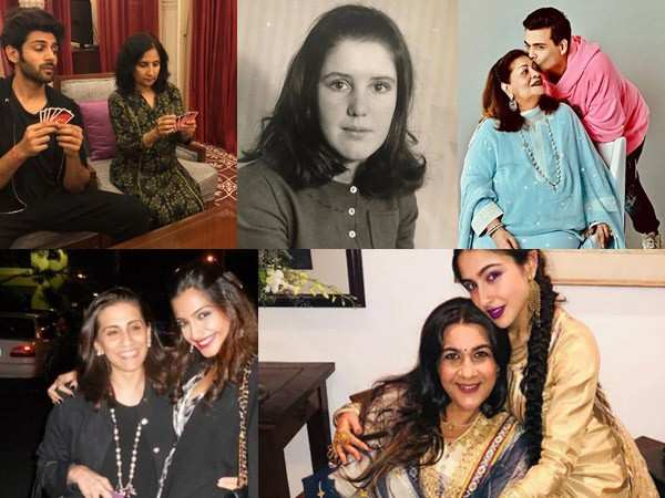 Bollywood celebs send out special wishes on Mother's Day for their moms