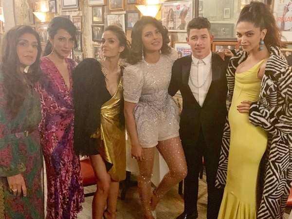 Priyanka Chopra and Nick Jonas bond with Deepika Padukone at Met Gala 2019