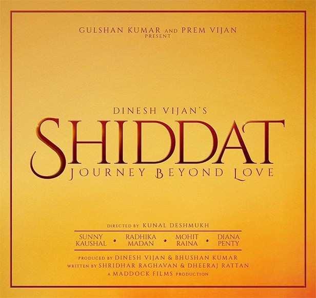 Radhika Madan, Sunny Kaushal, Shiddat, Diana Penty, Mohit Rana, Dinesh Vijan