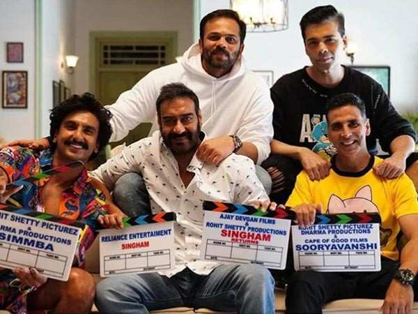 Rohit Shetty to bring Singham, Simmba and Sooryavanshi together in a film?