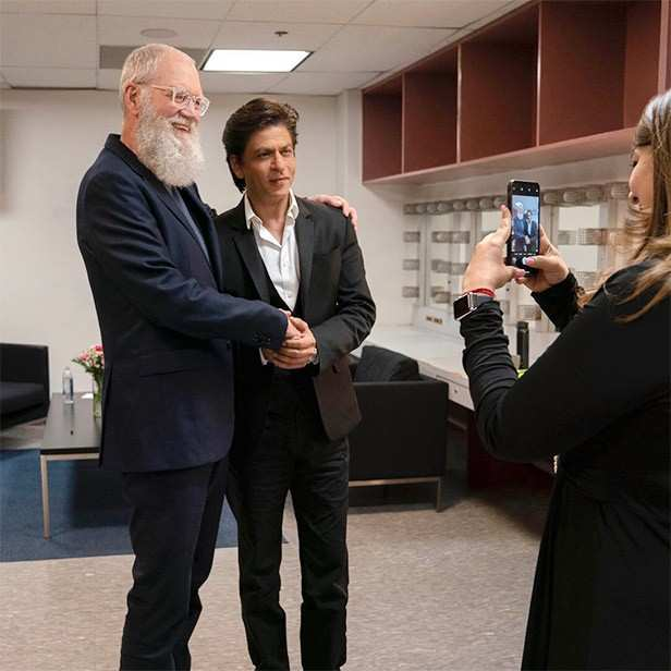 Shah Rukh Khan, David Letterman, Netflix, My Next Guest Needs No Introduction