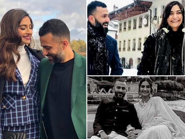 25 most romantic holiday pictures of lovebirds Sonam Kapoor and Anand Ahuja