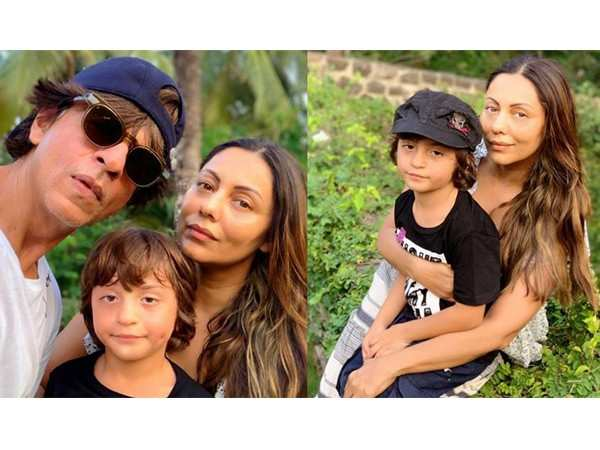 Shah Rukh Khan reacts to Gauri Khan's picture with AbRam