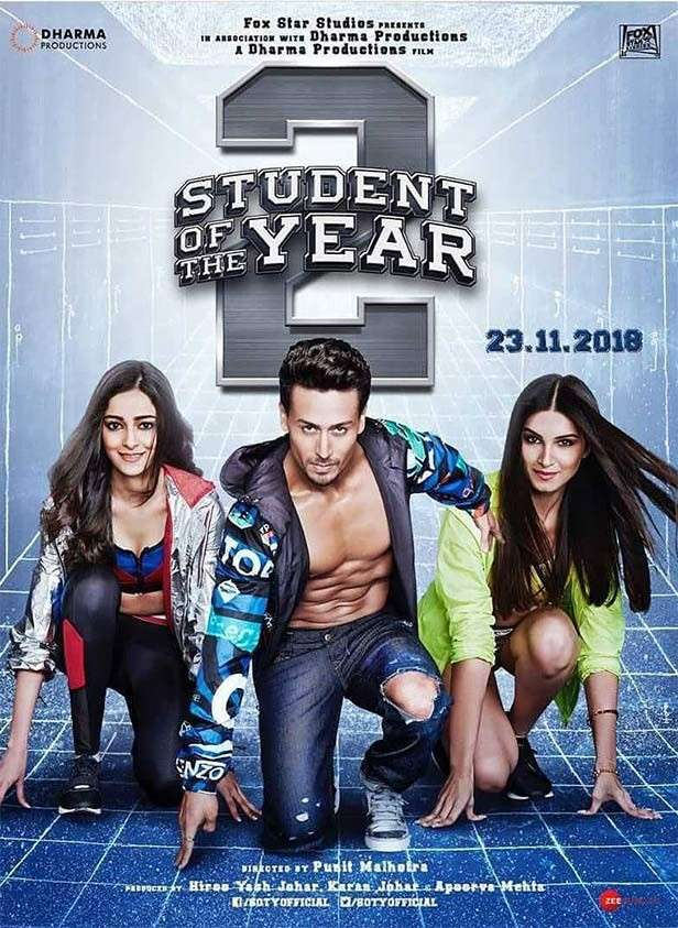 Student Of The Year 2, Tara Sutaria, Tiger Shroff, Ananya Panday