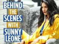 Video! Behind the scenes fun from our latest Sunny Leone photoshoot