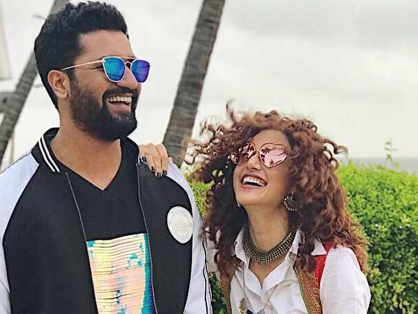 Vicky Kaushal and Taapsee Pannu recall a hilarious drunken night memory