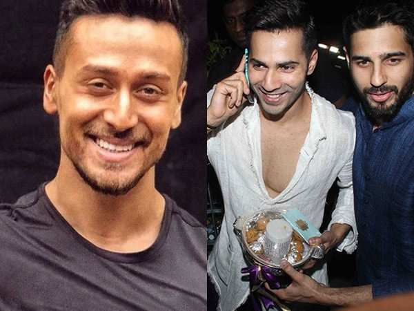 Tiger Shroff is happy that Varun Dhawan is not a part of SOTY 2