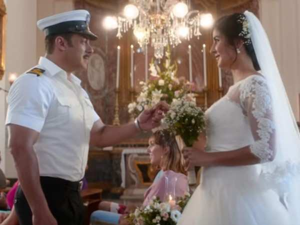 Nora Fatehi and Salman Khan set the screen on fire in Turpeya from Bharat