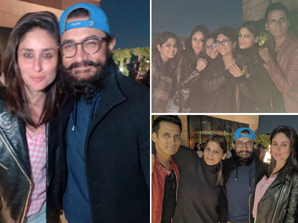 Photos: Aamir Khan and Kareena Kapoor Khan kick-off Laal Singh Chaddha in the most epic way