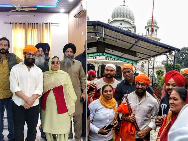 You cannot miss these pictures of Aamir Khan as he bonds with fans in Punjab