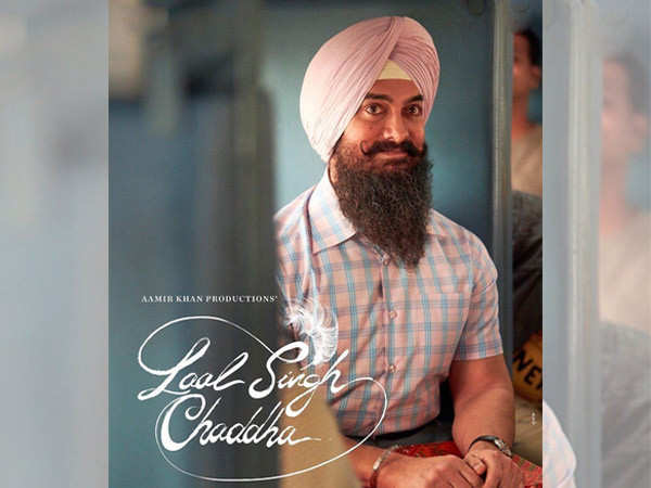 First poster out: Aamir Khan introduces himself as Laal Singh Chaddha