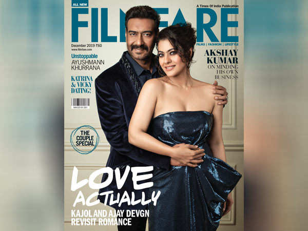 Kajol and Ajay Devgn exude old world charm on our final cover of the year