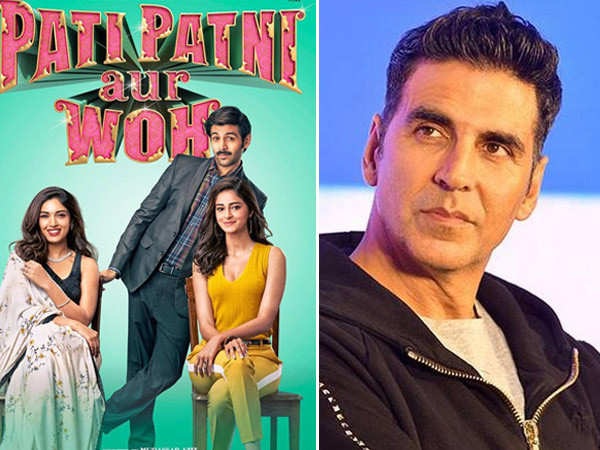 Did you know Akshay Kumar is the reason behind Pati Patni Aur Woh's remake?