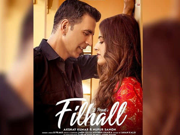 First look of Akshay Kumar and Nupur Sanon's music video Fillhal