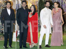 Celebs pour in at Ambani residence for their neice's pre-wedding function