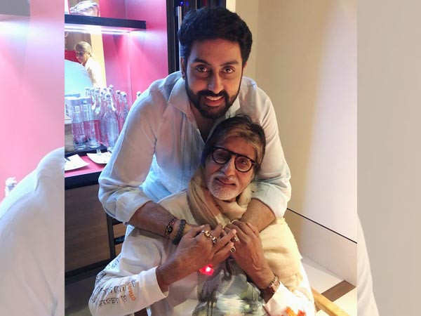 Abhishek Bachchan writes a heartfelt note for Amitabh Bachchan