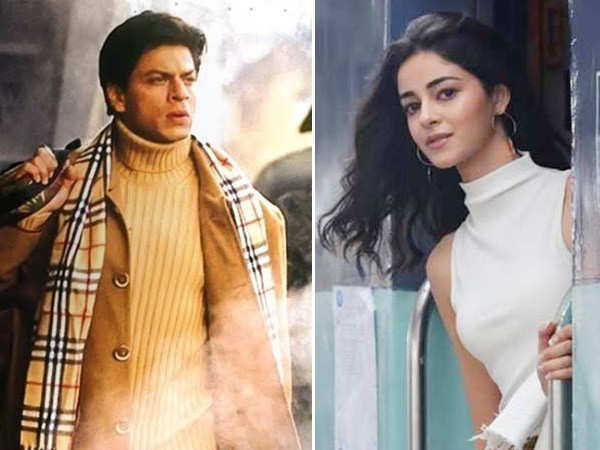 Ananya Panday took inspiration from Shah Rukh Khan for Pati Patni Aur Woh