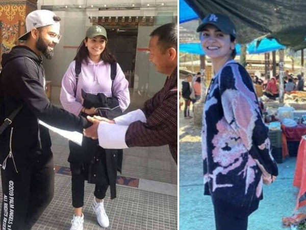 Virat Kohli and Anushka Sharma take a short holiday to Bhutan