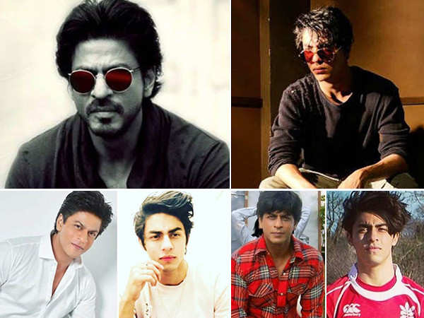 22 pictures of Aryan Khan that prove he is a reflection of Shah Rukh Khan