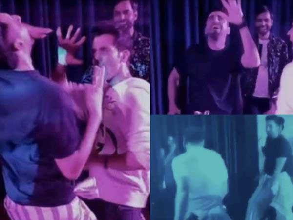 Rajkummar Rao ve Ayushmann Khurrana dans pistini salladılar