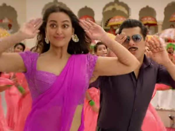 Sonakshi Sinha talks about why a track like Yu Karke from Dabangg 3 is her USP