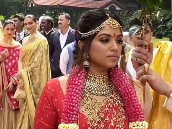 Watch Deepika Padukone's latest video from her friend's wedding in Banglore
