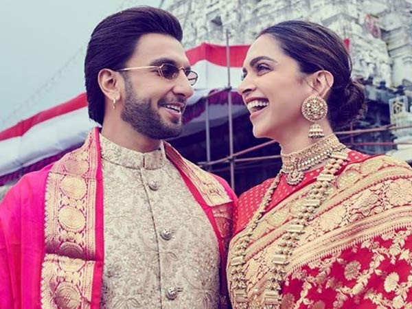 Deepika Padukone posts a lovely picture with Ranveer Singh from Tirupati