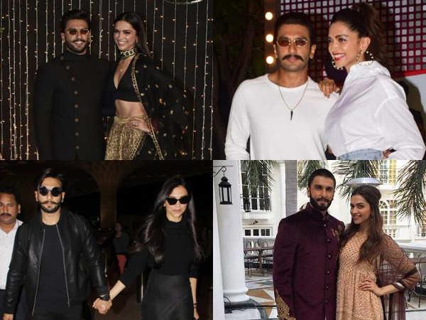 Proof that Deepika Padukone and Ranveer Singh's twinning game is on point
