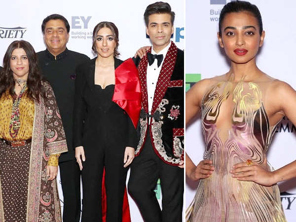 Radhika Apte, Karan Johar and others dazzle at the Emmy's red carpet
