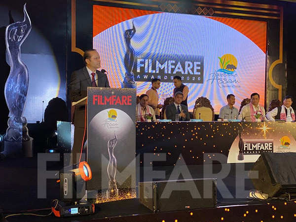 Filmfare Awards 2020 All Set To Be Hosted In Guwahati