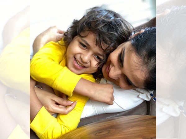 Genelia D'Souza pens a heartfelt note for son Riaan Deshmukh on his birthday today
