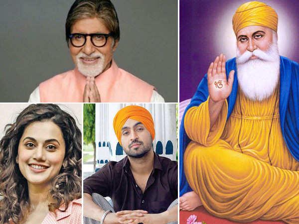 Bollywood celebs wish their fans on Guru Nanak Jayanti