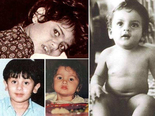 Childhood pictures of your favourite Bollywood celebrities