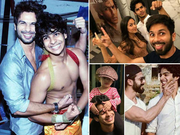 10 adorable family pictures of birthday star Ishaan Khatter